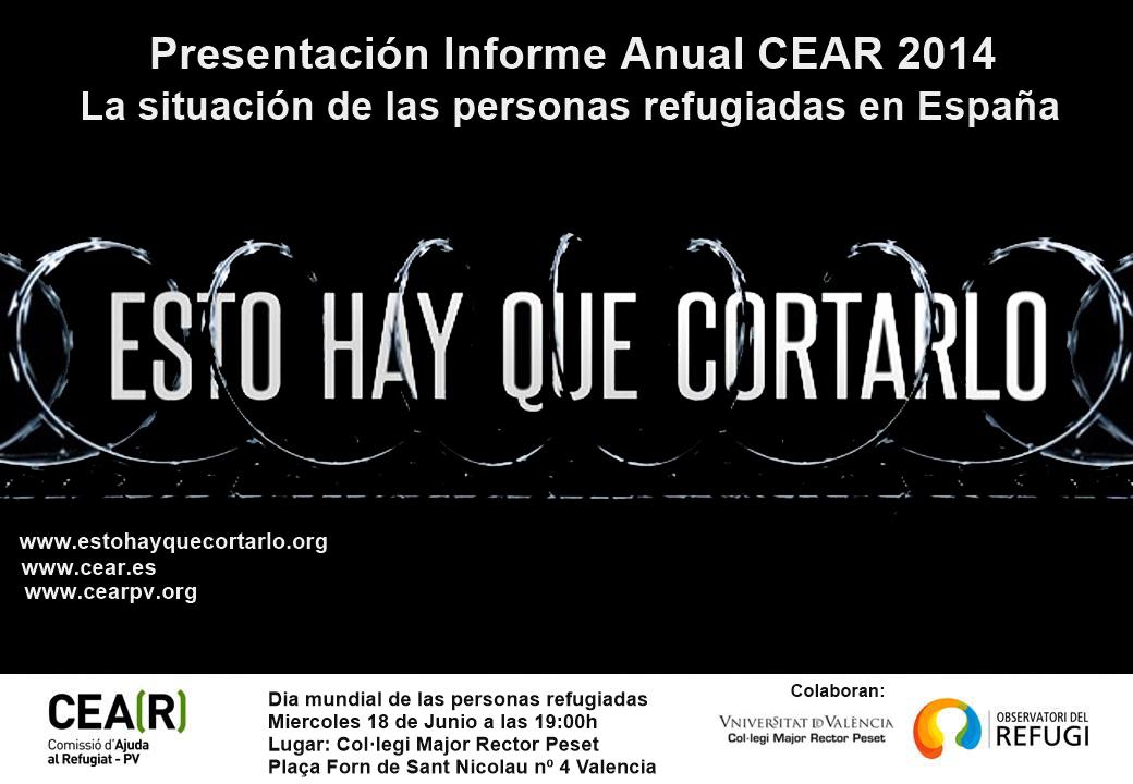 Presentación Informe Anual CEAR 2014
