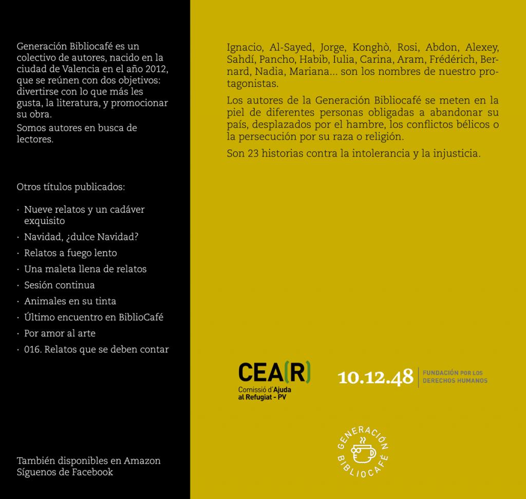 """Presentación del libro """"Relatos sin fronteras"""""""