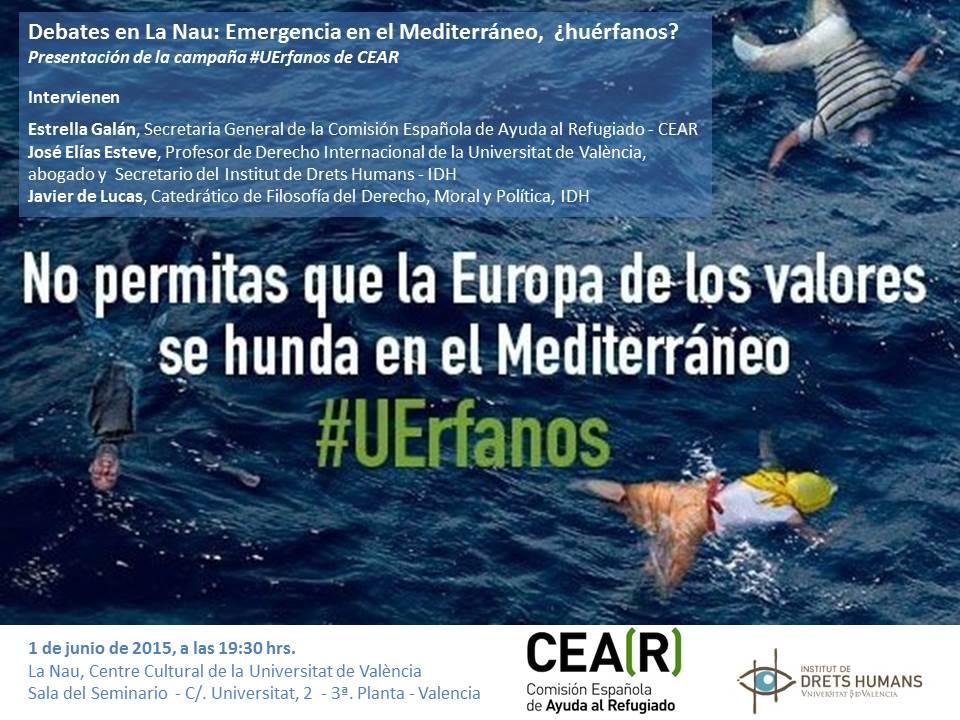 Presentación de la campaña #UErfanos