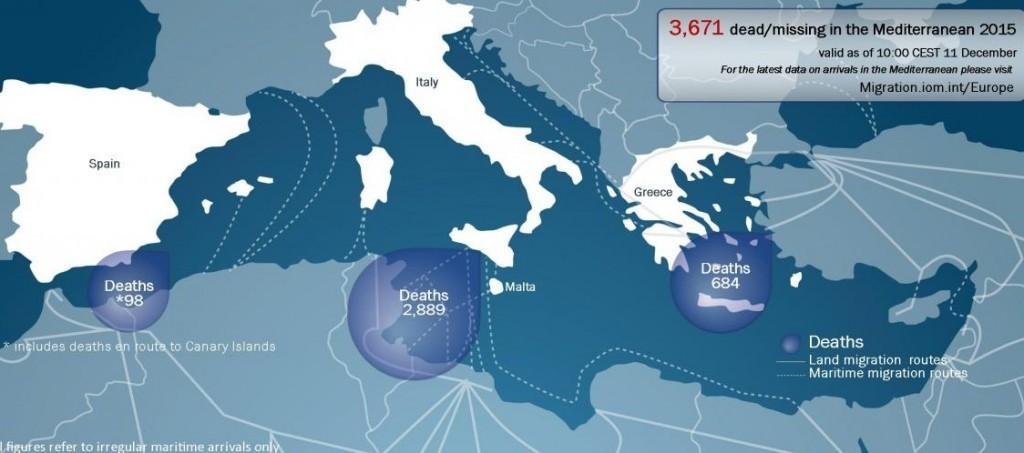 2015, Europa de brazos cruzados ante el drama de los refugiados