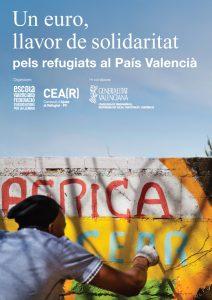 Escola Valenciana llança una campanya solidària amb CEAR PV