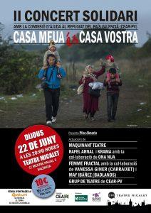 """II Concert Solidari """"Casa Meua és Casa Vostra"""""""