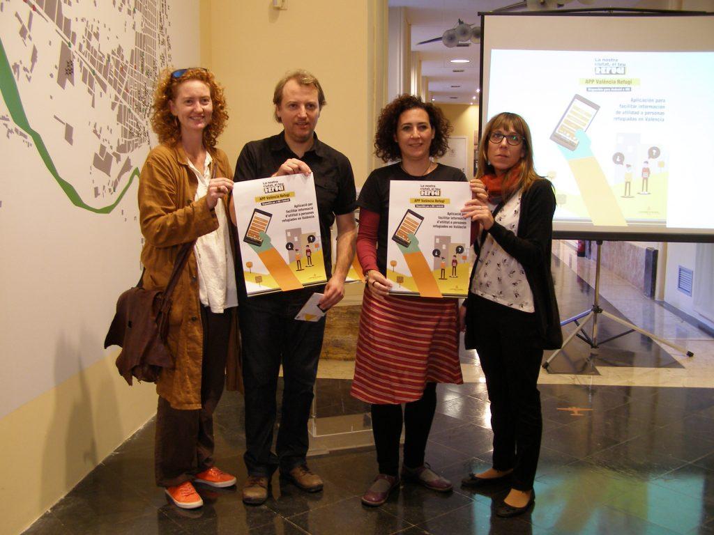 """App """"València Refugi"""" es renova amb un mapa de la ciutat i cinc idiomes"""