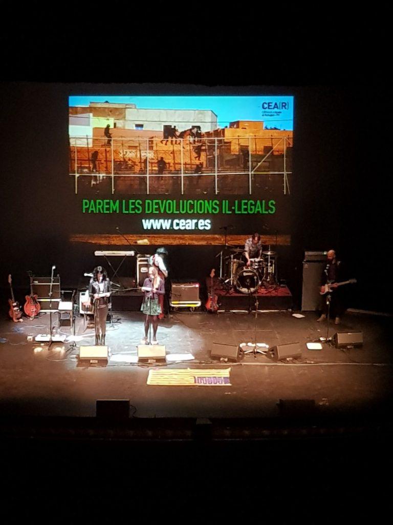 Concert 10 anys Senior i el Cor Brutal en el Teatre Principal de València
