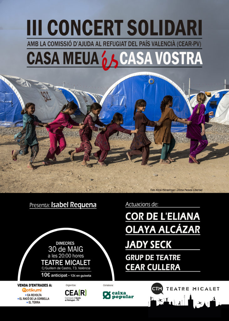 """III Concert Solidari """"Casa Meua és Casa Vostra"""""""