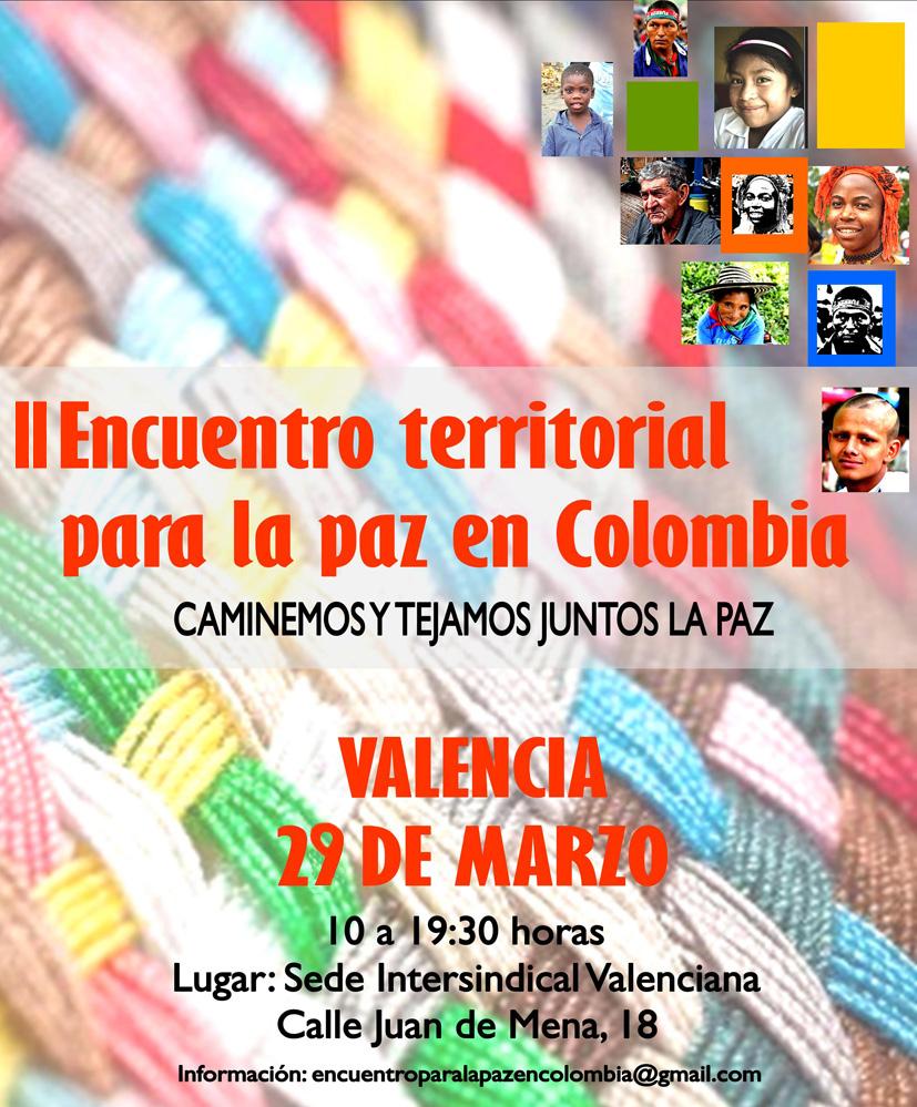 II Encuentro para la Paz Valencia