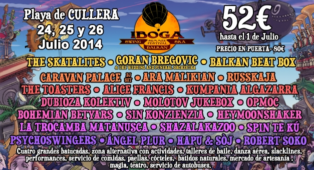 CEAR-Iboga cartel concert