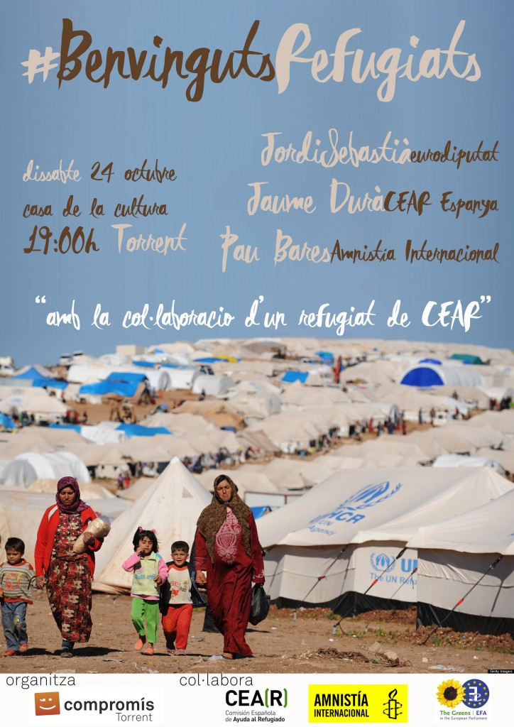 Jornada refugiados en Torrent